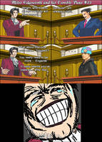 Miles Edgeworth and His Terrible Puns #21[SPOILER] by DarkMatter89