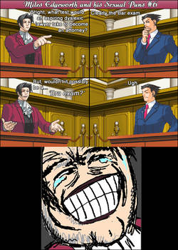 Miles Edgeworth and His Sexual Puns #6