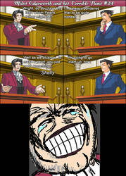 Miles Edgeworth and His Terrible Puns #24
