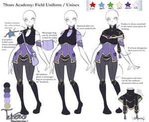 7Stars Academy Field Uniform