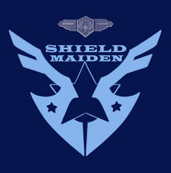 SHIELD MAIDEN insignia by Iriadescent