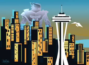 Shield Maiden Seattle by Iriadescent