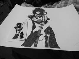 Nikki Sixx Stippling 1 by Sixxer36-Punk