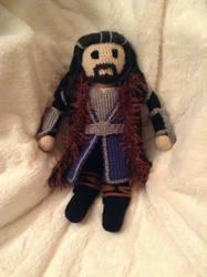 Thorin Oakenshield - Crochet by Neverfallforfun