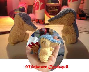 Miniature Cyndaquil by Neverfallforfun