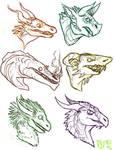 --+ Dragon Heads
