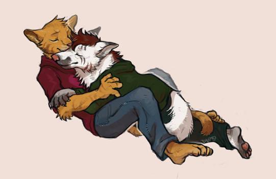 [COMM] Hug Wolf