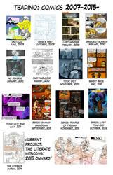 Comics 2007-2015 by TeaDino