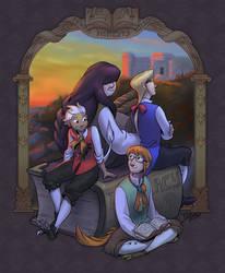 The Literates! by TeaDino