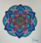 Mandala sharpy