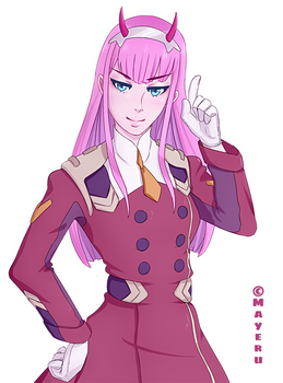 [Fanart] Zero Two