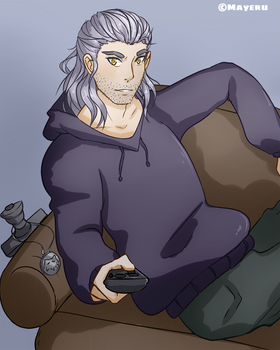 [Fanart] Gerald of Rivia