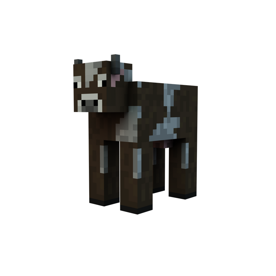 Image Gallery minecraft cow