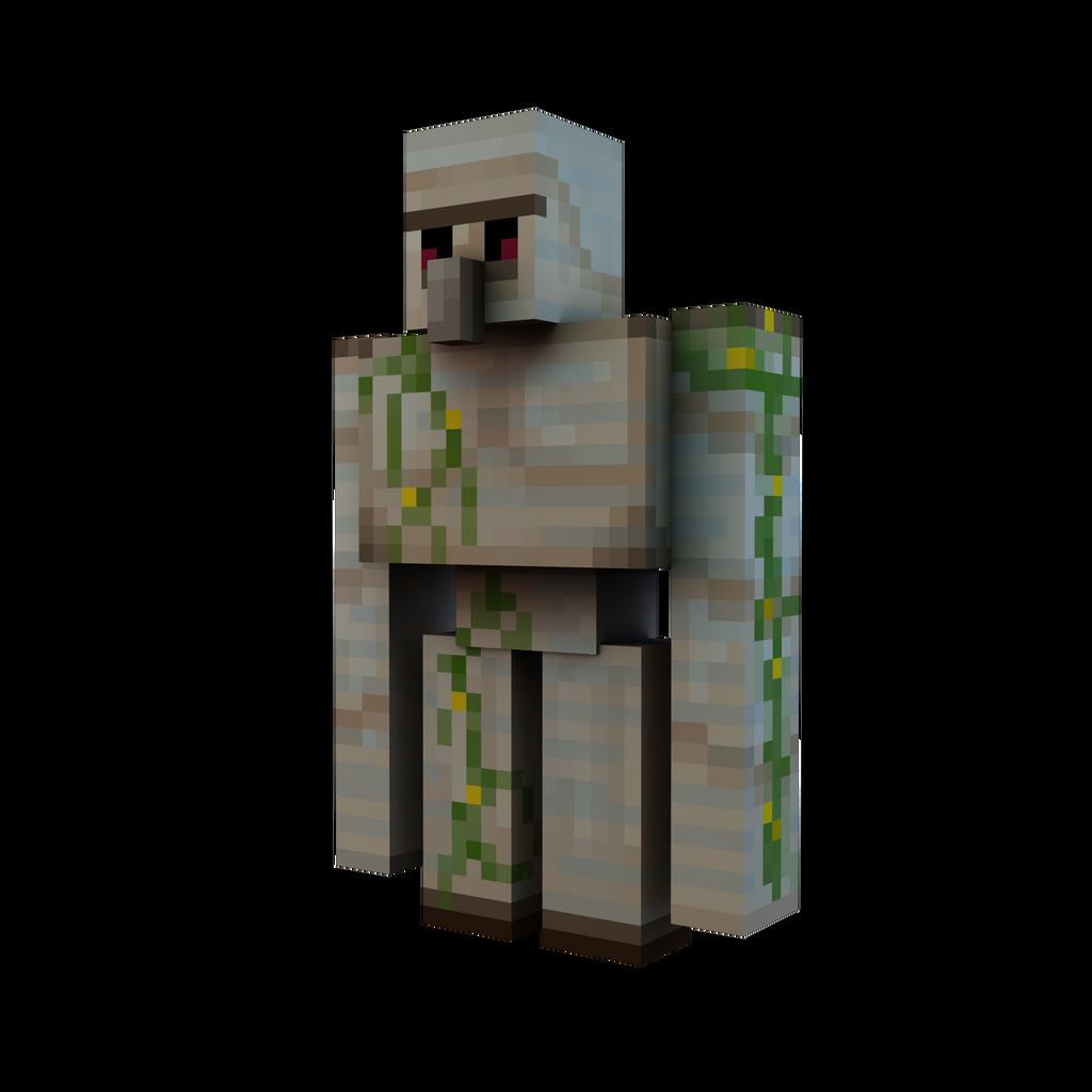 Minecraft Render Iron Golem By Danixoldier On Deviantart