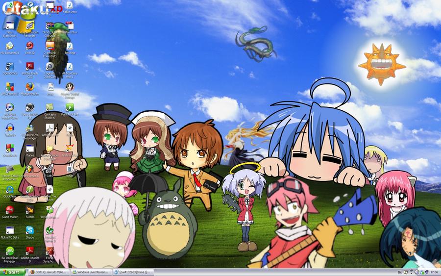 Otaku XP - My Desktop by hoeloe