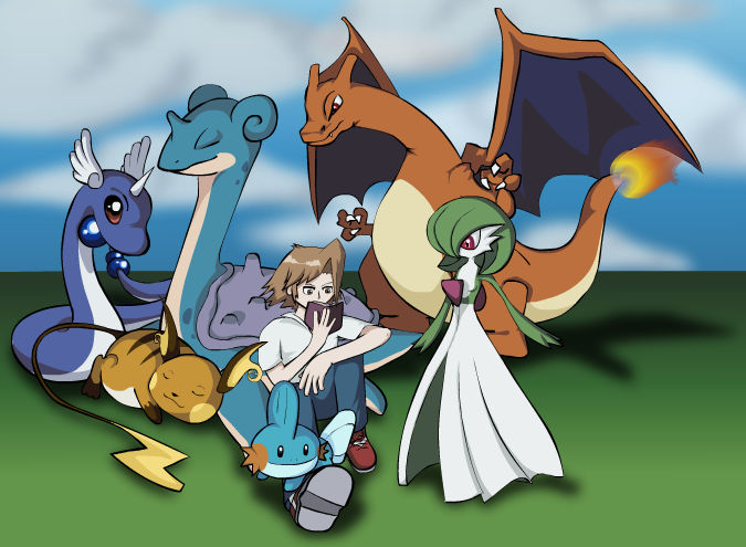 Me and my Pokemon