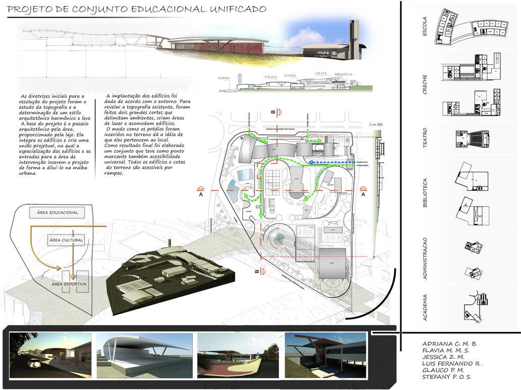 Educational Complex Proposal by Nachtengelsp