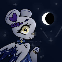+ look at the moon +