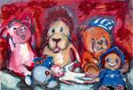 Portrait of toys