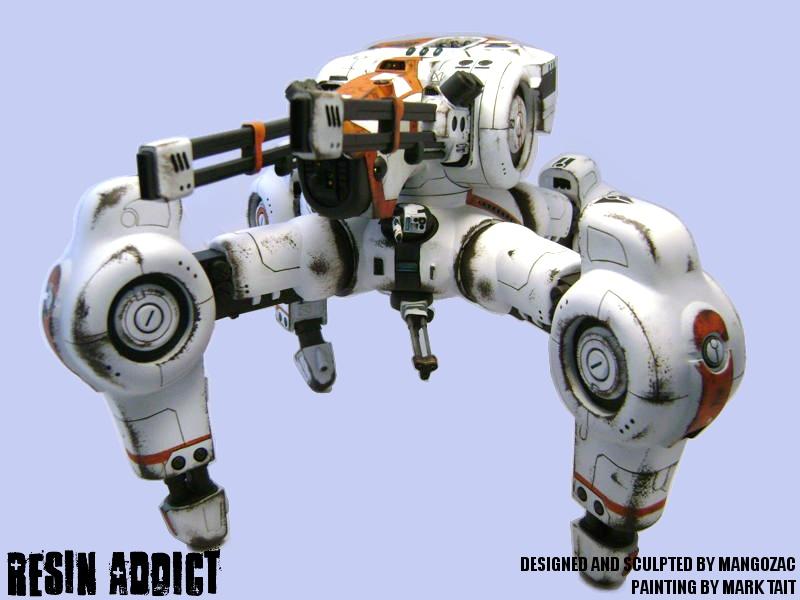 Superheavy Assault Walker by mangozac