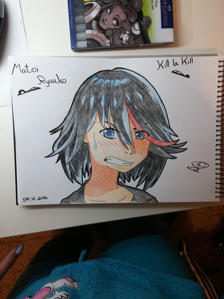 Matoi Ryuuko - Kill la Kill by staphil12
