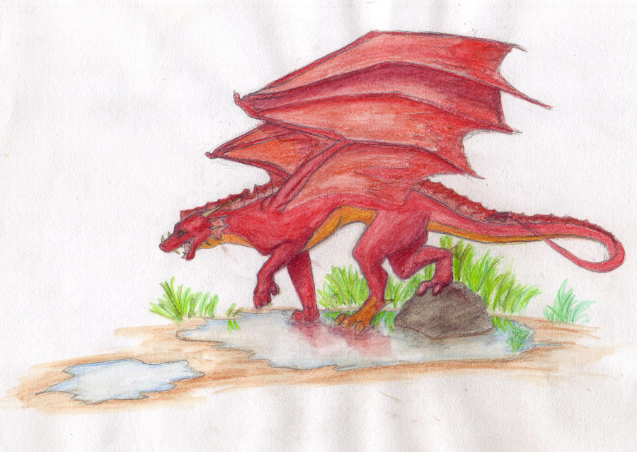 Dragon :D by BrownWolfCub