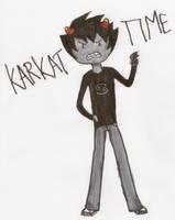 Karkat Time! by InsertPockyHere