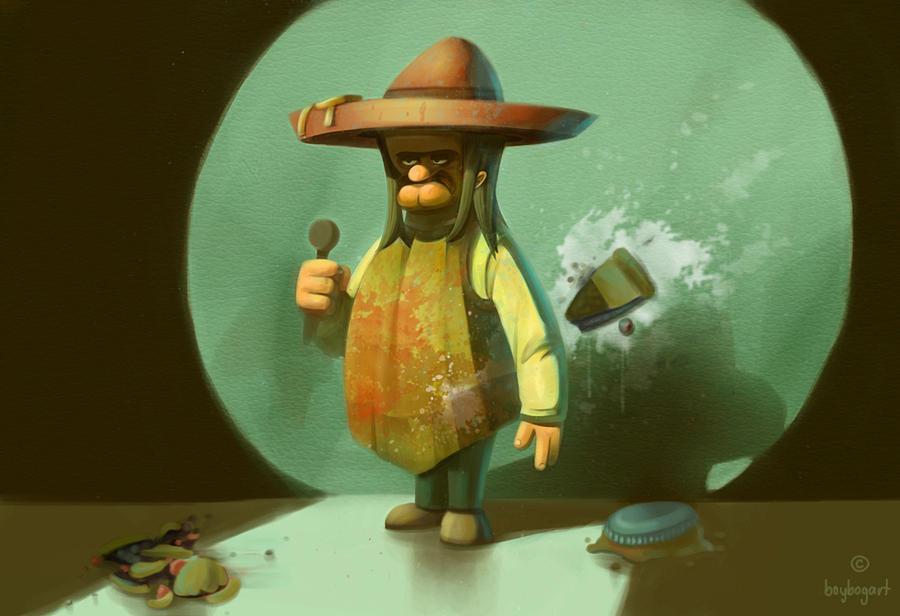 EL O EL - The mexican comedian by boybogart