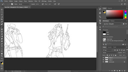 Fan art Reproduction - W.I.P [Wynonna - Doc] by MissTack