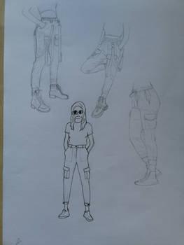 Fashion Study #1 Cargo Pants
