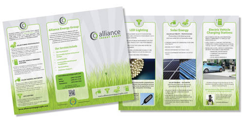 Alliance Energy Trifold Brochure