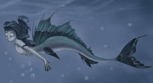 Lancetfish by MantaTheMisukitty