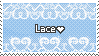 Lace is good [stamp] by MantaTheMisukitty