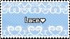 Lace is good [stamp] by MantaTheMisukitty