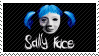 Sally Face [stamp] by MantaTheMisukitty