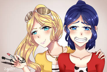 Miraculous Ladybug-Makeovers for everyone by Zaplurr