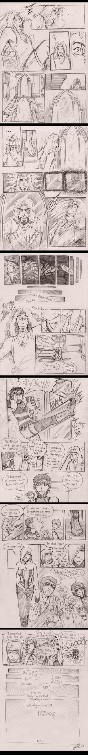 Xinorv: The Battle (COMIC) by lupitard