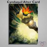 Cyndaquil Alter Card by Eli--Eli