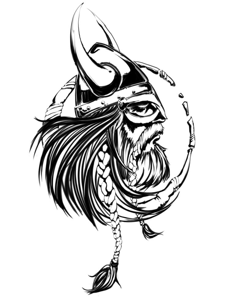 Viking Logo by dgeer on DeviantArt