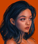 Warm and Cool Portrait