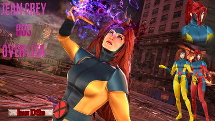 Tekken 7 - Jean Grey Eliza Mod by IsanDSis
