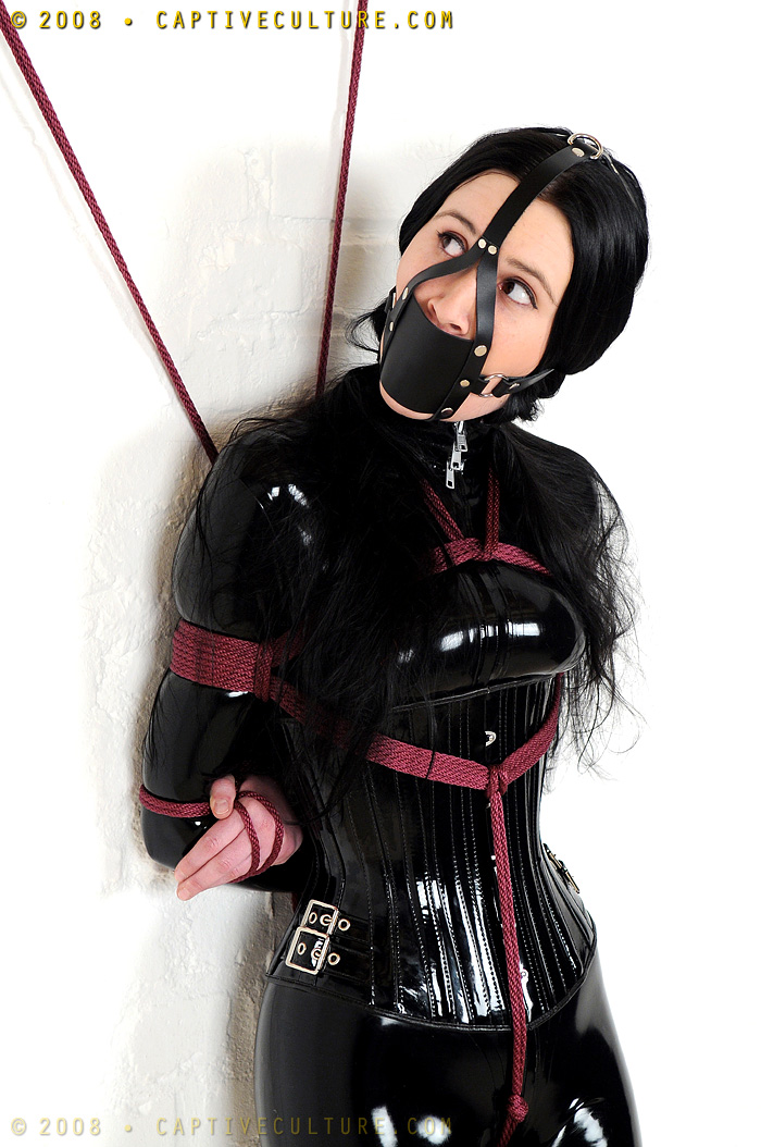 Muzzle Gag Harness by ilovefrenchgirls