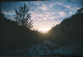 Sunset in Oswego New York by Toxicintensity