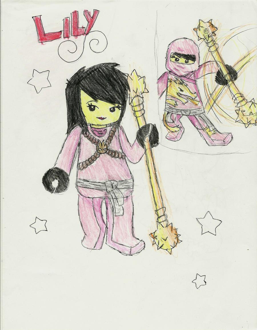 Lily -Ninjago OC 2- by K0MPY