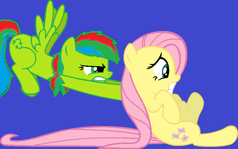 Just come on, Fluttershy! by K0MPY