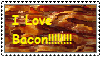 I LOVE BACON! stamp by K0MPY