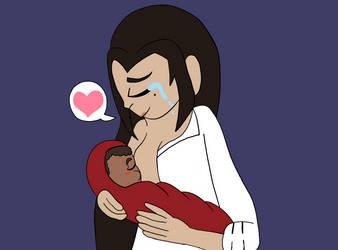 .:TDP: Breastfeeding:. by CyberWaveToons