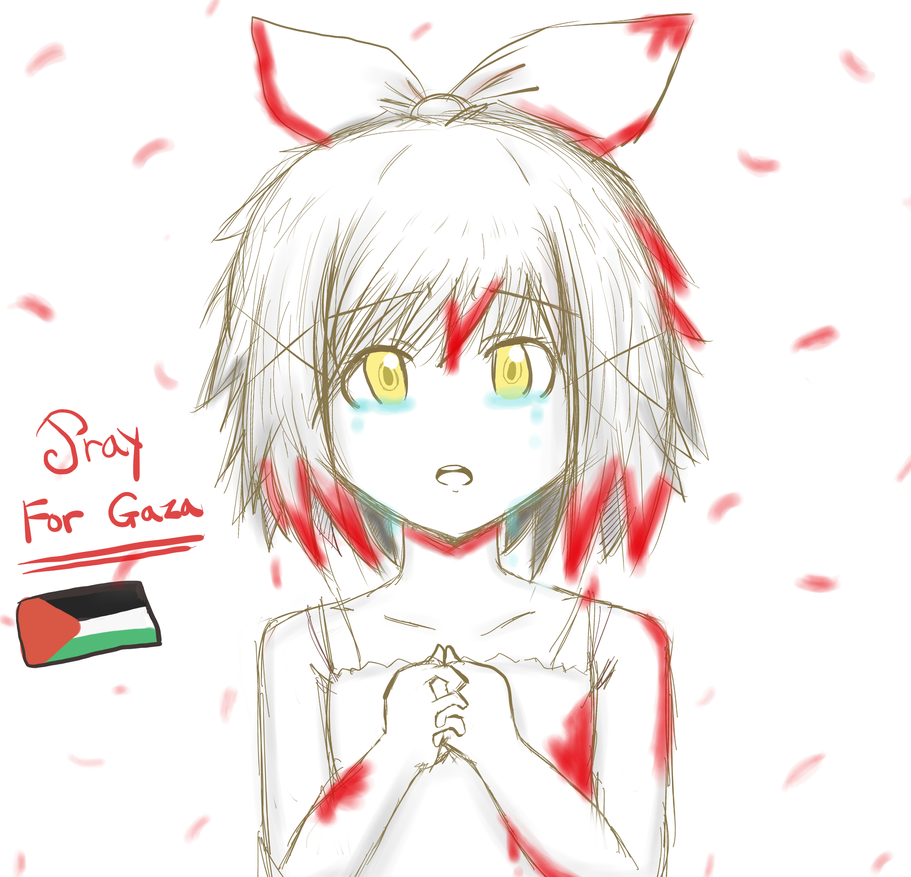 Pray for Gaza! by FantasyXII