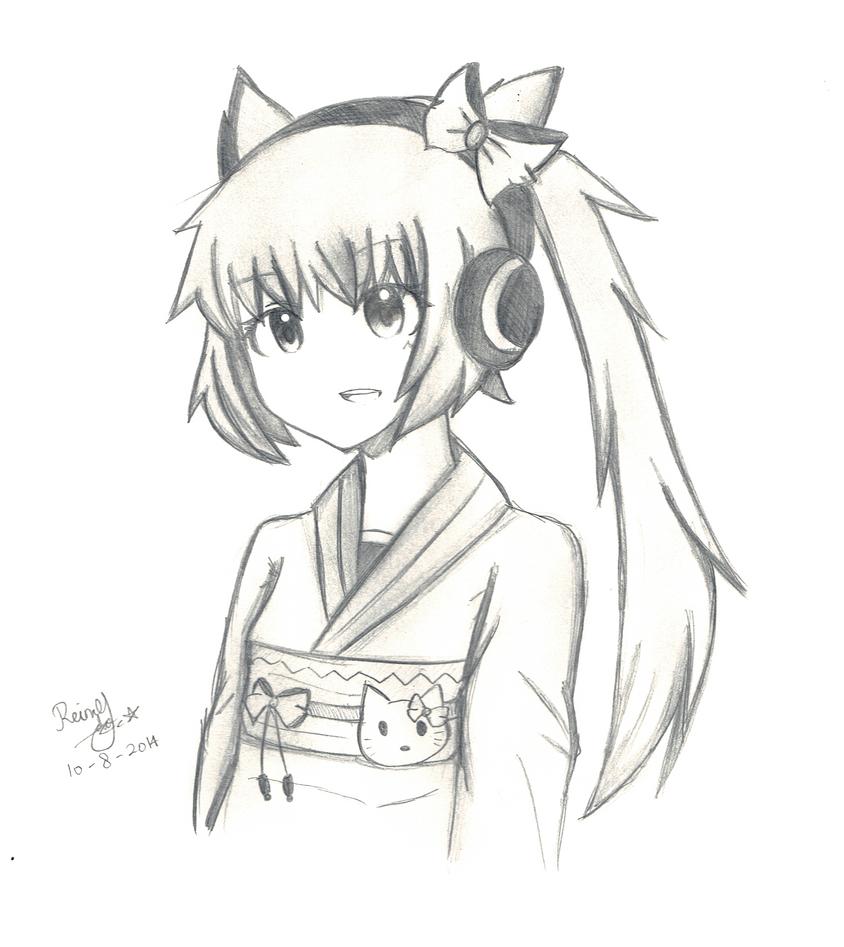 Nekomura Iroha by FantasyXII
