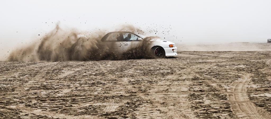 Subaru Impreza drifting by Master-47